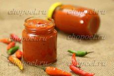 Домашний кетчуп из помидор и болгарского перца