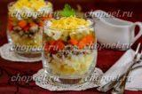 салат из сайры консервированной с яйцом и огурцом